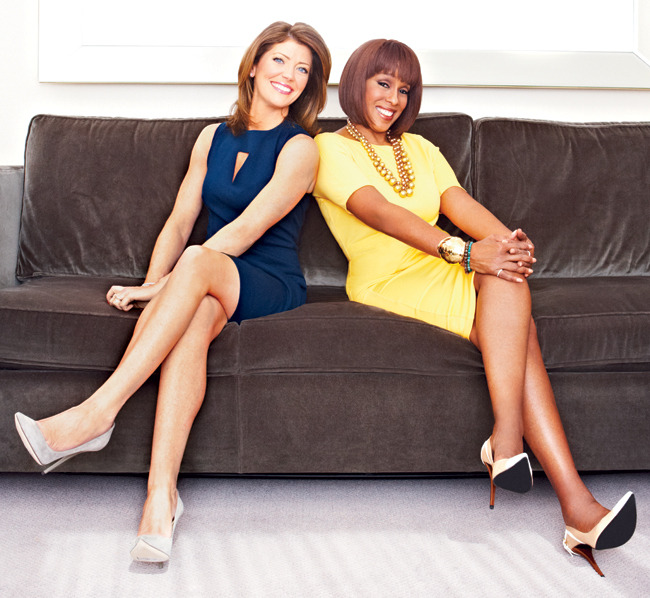 GAYLE KING NORAH O'DONNELL