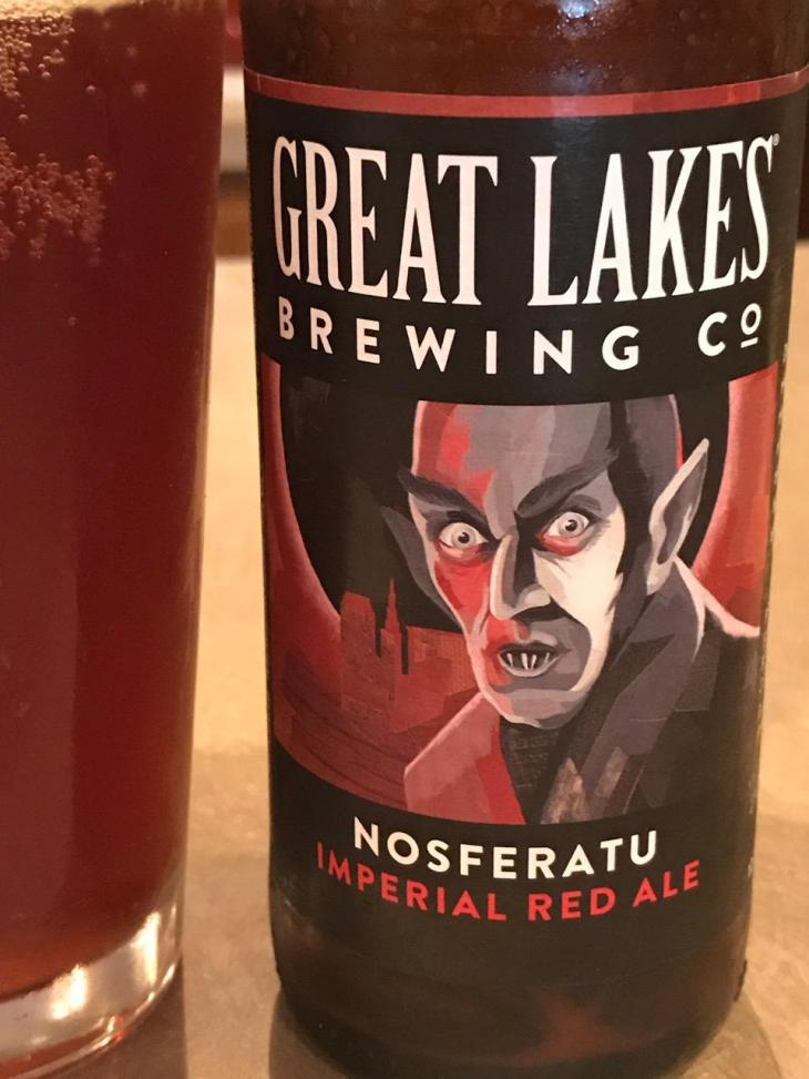 photo by THE ANIMAL-FREE CHEF GREAT LAKES NOSFERATU RED ALE