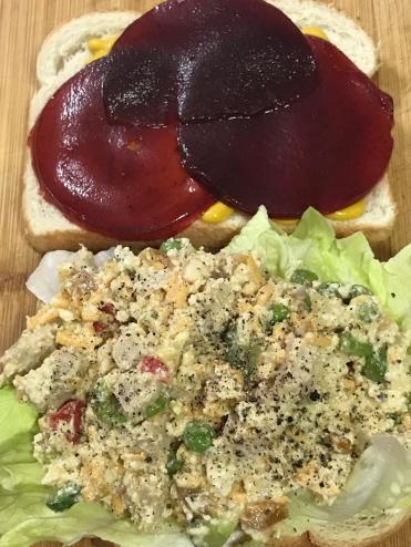 ASIAN CHICKEN CRANBERRY SANDWICH 1