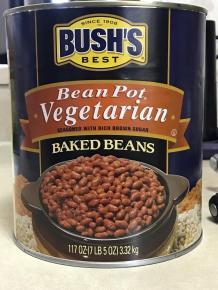 BUSH'S VEGETARIAN BEANS