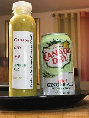 CANADA DRY DIET GINGER ALE SAUCE 3