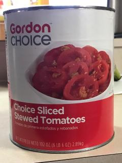 GORDON STEWED TOMATOES