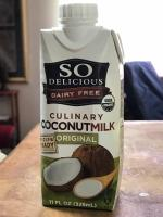 SO DELICIOUS ORIGINAL CULINARY COCONUTMILK 1