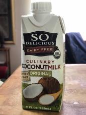 SO DELICIOUS ORIGINAL CULINARY COCONUTMILK 1