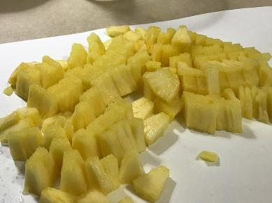 WHOLE PINEAPPLE DICED