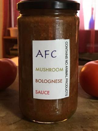 AFC MUSHROOM BOLOGNESE SAUCE 10