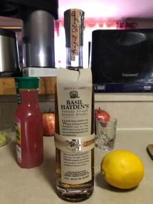 BASIL HAYDEN'S KENTUCKY BOURBON WHISKEY 1