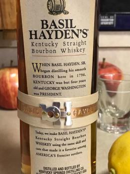 BASIL HAYDEN'S KENTUCKY BOURBON WHISKEY 2