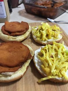 TOFURKEY HAM ROAST SANDWICH