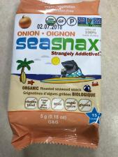 SEASNAX ORGANIC ROASTED SEAWEED