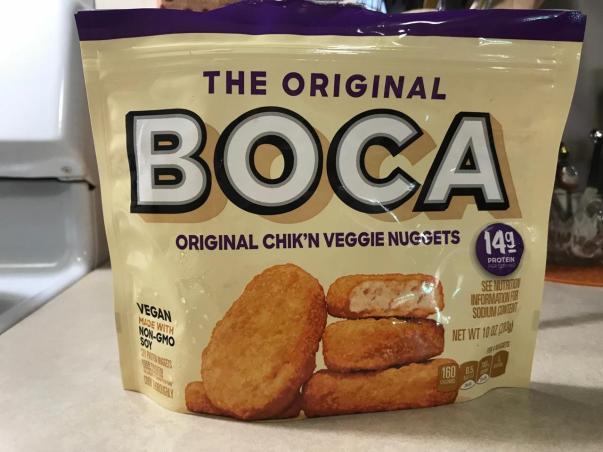 BOCA ORIGINAL CHIK,N VEGGIE NUGGETS 1