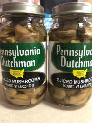 PENNSYLVANIA DUTCHMAN SLICED MUSHROOMS