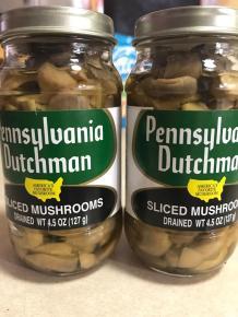 PENNSYLVANIA DUTCHMAN SLICED MUSHROOMS