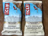coconut chocolate chip clif bars