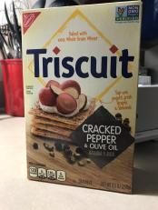 TRISCUIT cracked pepper and olive oil