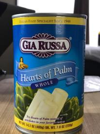 HEARTS OF PALM 1