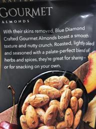 BLUE DIAMOND CRAFTED GOURMET ALMONDS 2