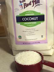 BOB'S RED MILL SHREDDED UNSWEETENED COCONUT 1