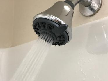 INSTALLING THE SHOWER HEAD water efficient 5