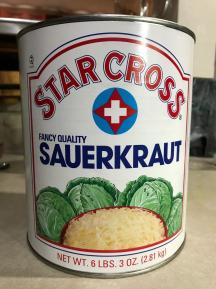STAR CROSS SAUERKRAUT 2