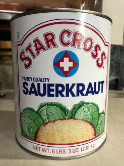 STAR CROSS SAUERKRAUT 2